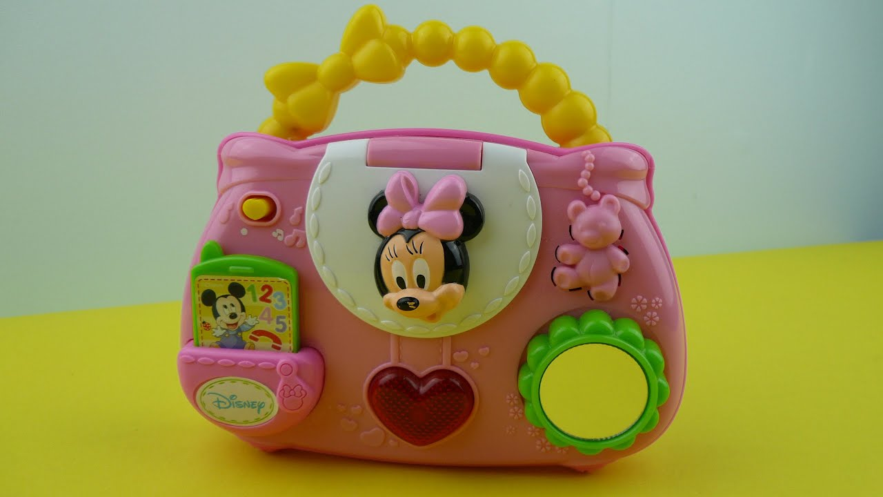Disney Baby Minnie Mouse Handbag Musical Talking Purse Toy Review You
