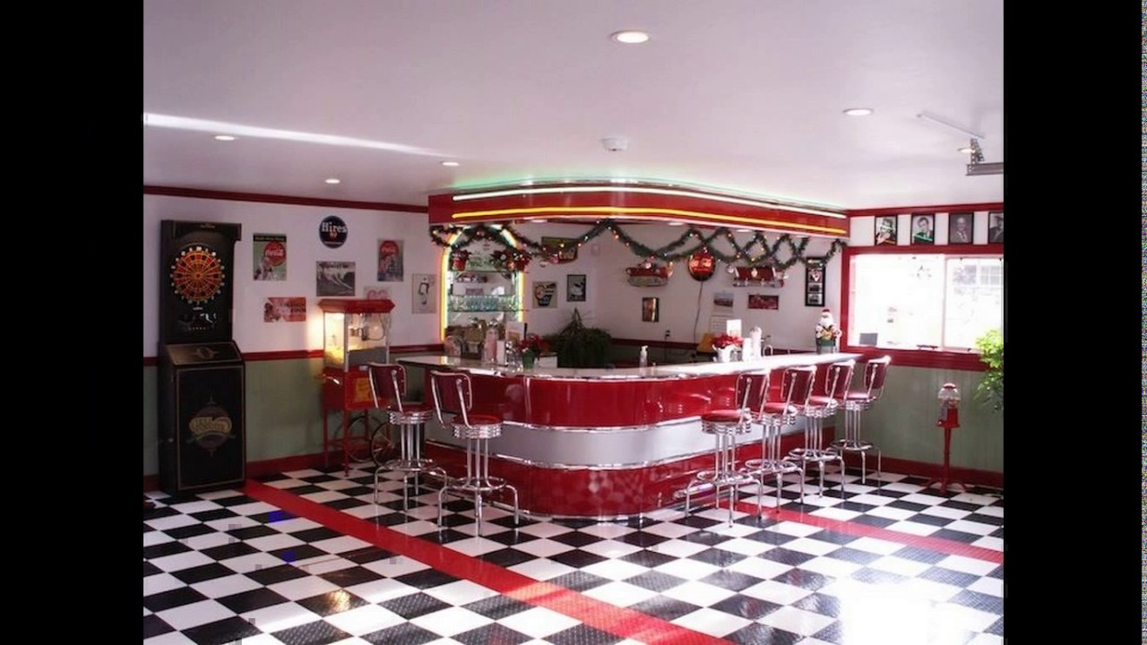 50 39 s diner kitchen designs youtube for 50 s style kitchen designs