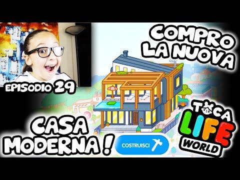 😍 TOCA LIFE: COMPRO LA NUOVA CASA MODERNA ! ❤️❤️❤️  Modern Mansion!