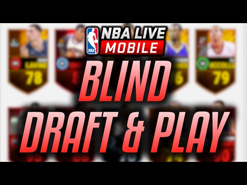 NBA LIVE MOBILE - BLIND DRAFT + PLAY + WAGER [NBALIVE.GG]