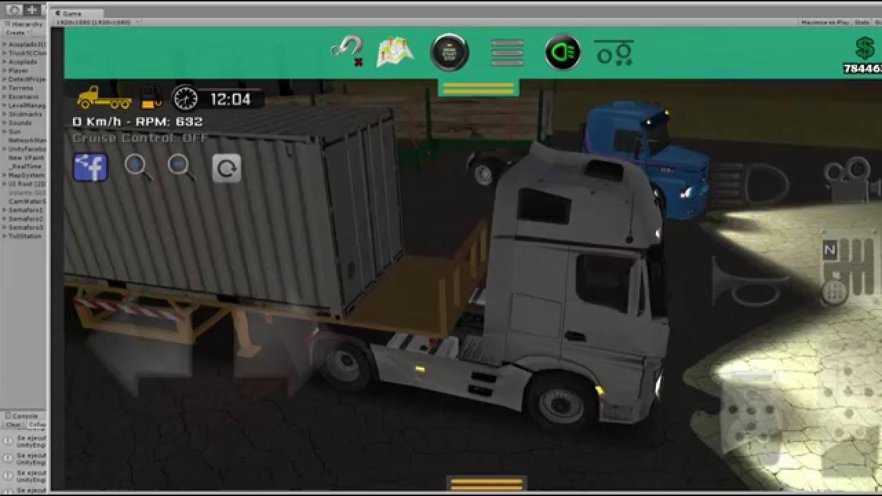 Grand Truck Simulator Night Multiplayer Convoy Crash Youtube