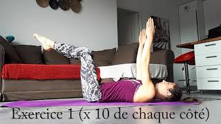 Renforcement abdominal post natal par Loreleï coach fitness