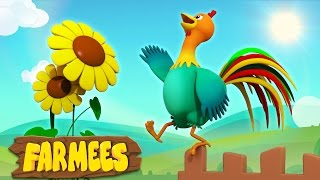 Cock A Doodle Do | Nursery Rhymes Songs | 3D | Song For Children's by Farmees thumbnail