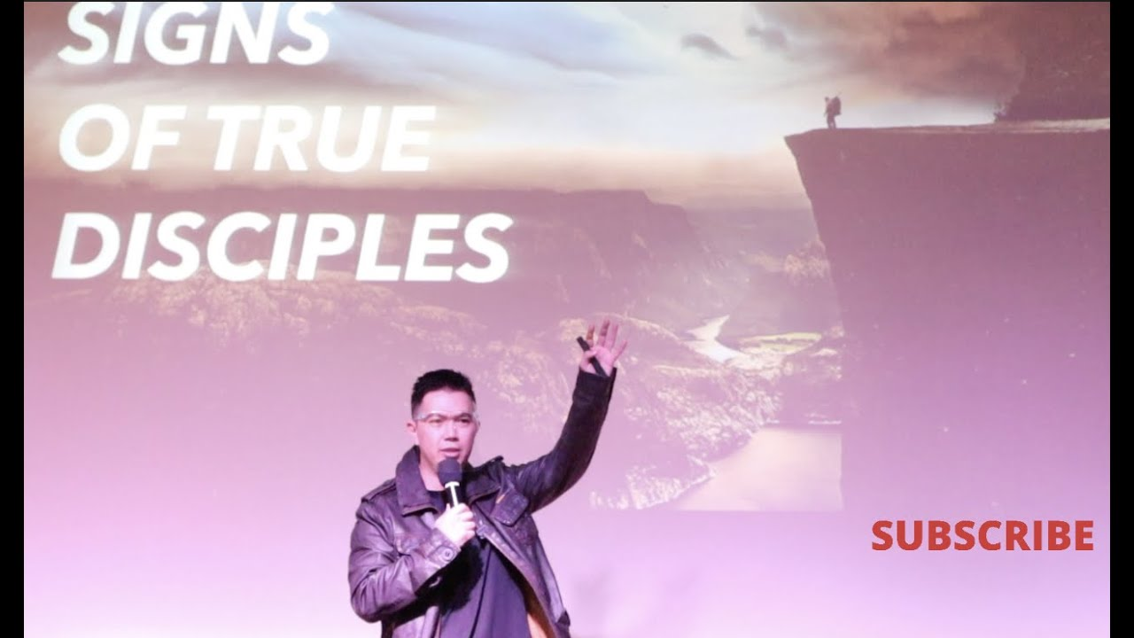 15 November English: The Signs of True Disciples ~ Ps. Robby Andrianus