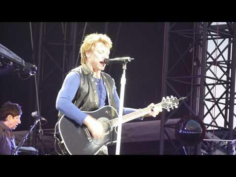 Bon Jovi - Wild Is The Wind HD (Zeebrugge July 24, 2011)