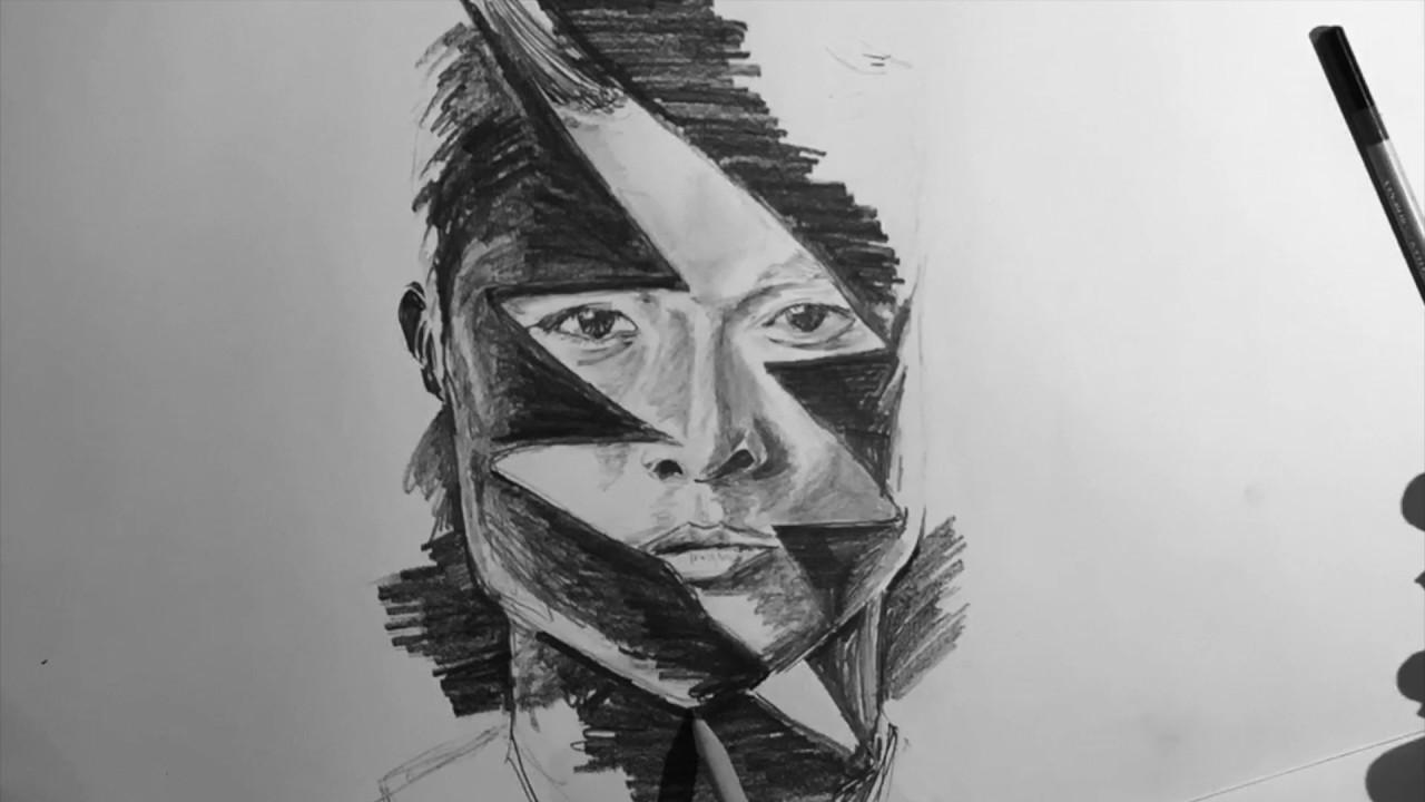 Power Ranger 2017 - Black Ranger Drawing - YouTube