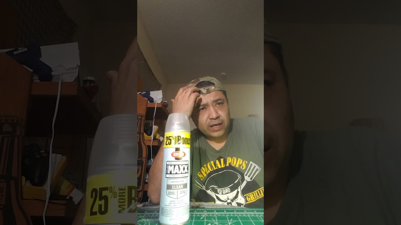 krylon acrylic clear coat review on plastic models
