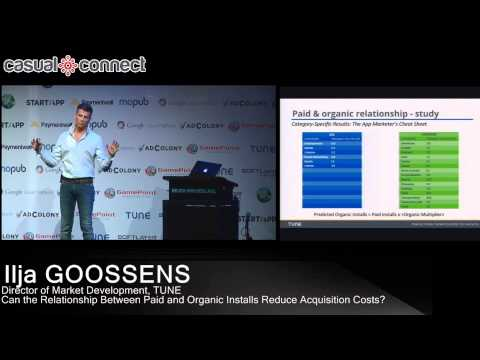 Can Paid and Organic Installs Reduce Acquisition Costs?   Ilja GOOSSENS