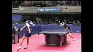 【#卓球】少しだけ… 2004年全日本選手権ジュニアの部 準々決勝 #照井雄太 対 #横山友一 thumbnail