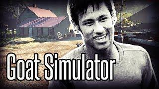 Goat Simulator - Neymar é uma cabrita!