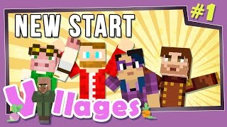 Minecraft: Villages - #1 - New Start (Modded Minecraft)