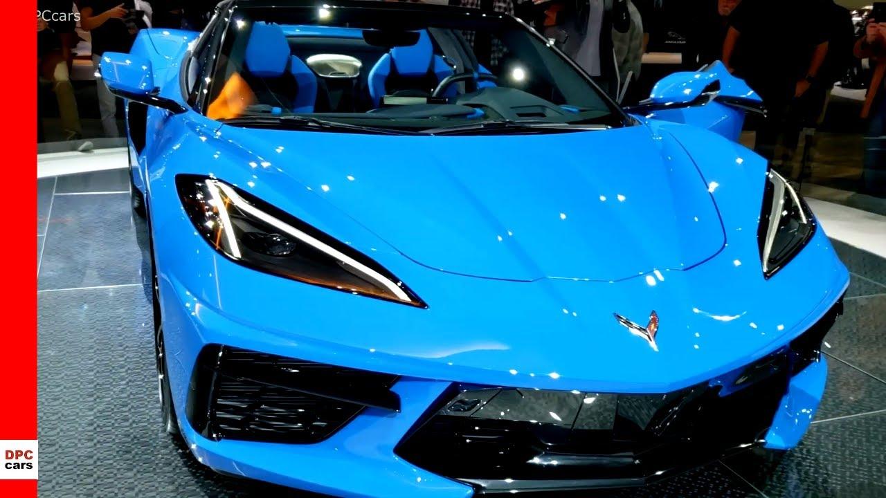 Rapid Blue 2020 Corvette Convertible Youtube