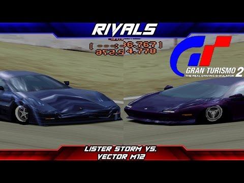 Rivals - Episode 10 - Lister Storm vs. Vector M12 (Gran Turismo 2)