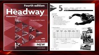 Скачать New Headway Elementary Exercise Book 4th Unit 05