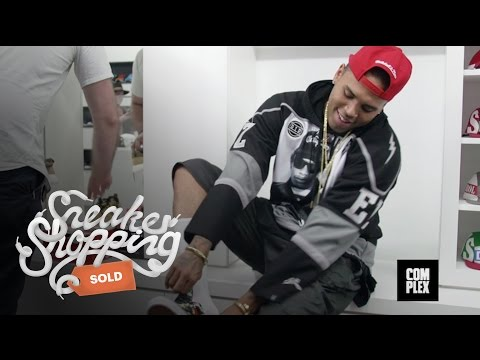 Thumbnail: Chris Brown Goes Sneaker Shopping With Complex
