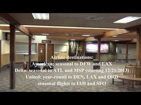 A Tour of Aspen-Pitkin County Airport (2013 footage)