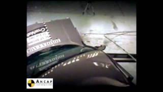 Toyota Camry 2000 ANCAP Crash Test (3 stars)