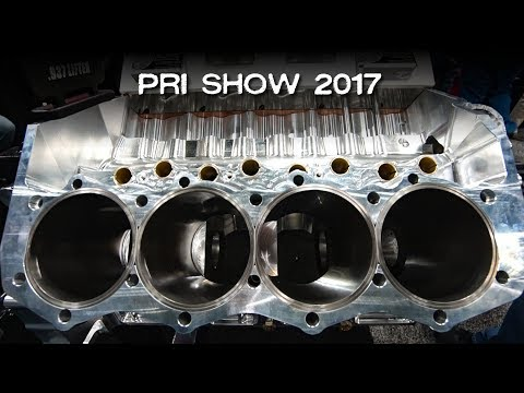 High Performance Racing Engines At The 2017 PRI Show