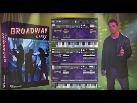 Broadway Lites - a virtual instrument by Fable Sounds