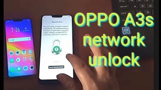 Oppo A3s CPH-1803 Network /Country Unlock
