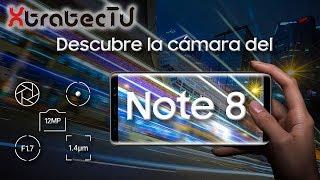 Descubre la cámara del Galaxy Note 8