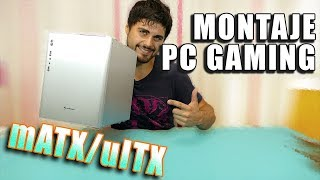 Montando un PC GAMING COMPACTO en 20 MINUTOS | micro ATX/mini ITX