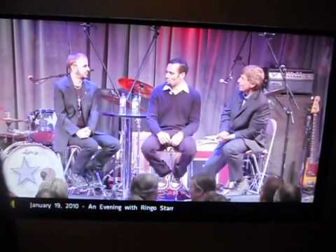 "Bob Becker Asks Ringo Starr a Question at the Grammy Museum...Ringo performs ""Boys"""