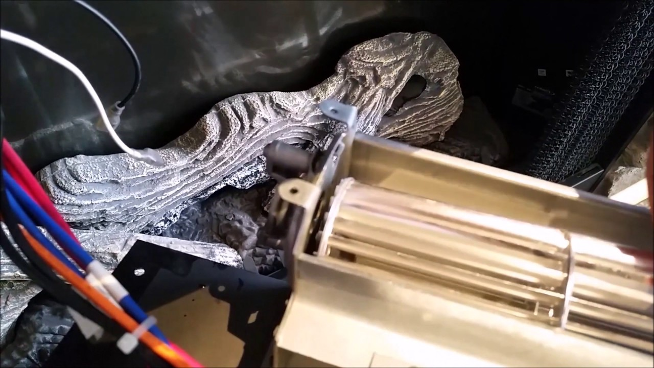 how to fix a fireplace fan blower squeal youtube