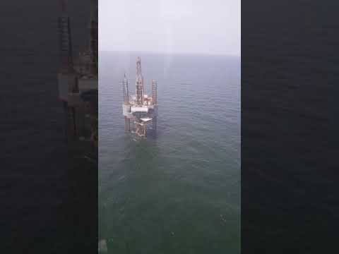 Working offshore making that money...