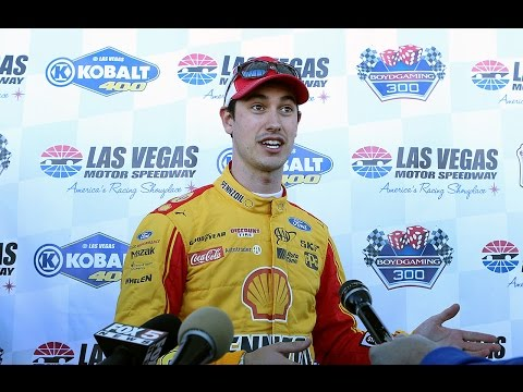 Joey Logano talks about the retirement of...