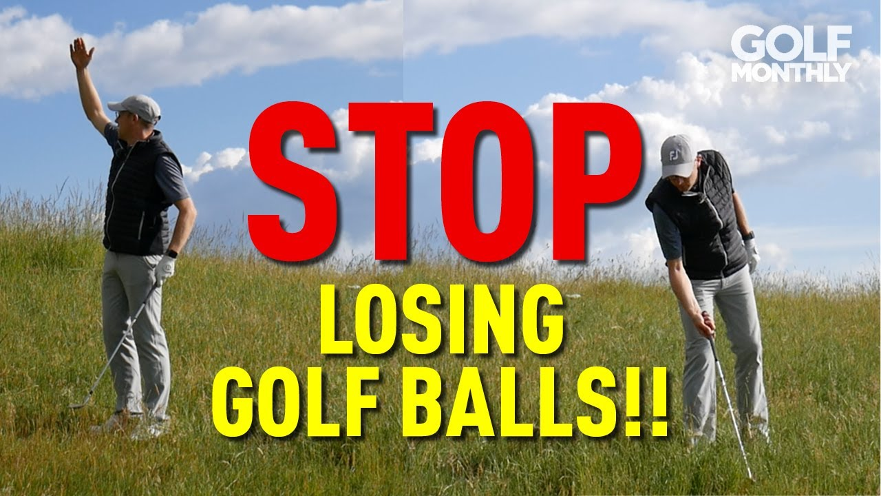 7 TIPS TO HELP YOU FIND YOUR GOLF BALL!!