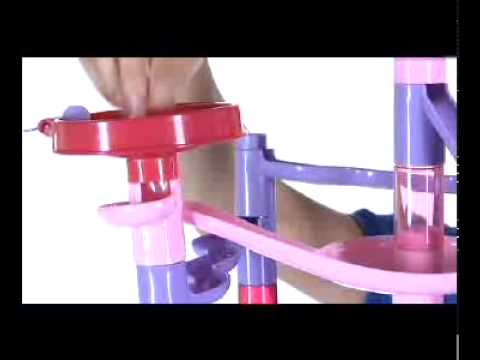 Pink Marble Race At Toys R Us
