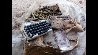 Коп по войне, найден схрон