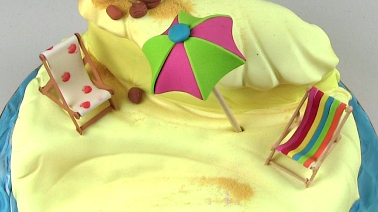 How To Make A Deck Chair Cake Topper
