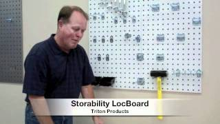 Garage Pegboard:  Locboard Is The Ultimate Storage Solution