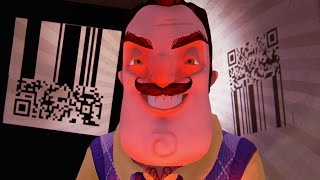 BIGGEST SECRET EVER!! HIDDEN MESSAGE!! (Hello Neighbor Alpha 3 / Hello Neighbour Gameplay)