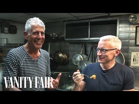 Anthony Bourdain Gets Anderson Cooper to Taste Tripe