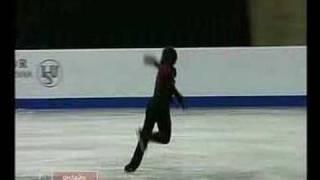 Denis Ten's SP at 2008 Jr. Worlds