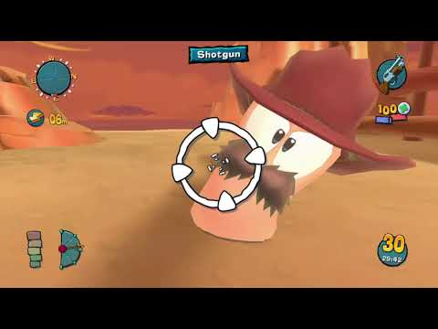 Worms 4 Mayhem Story Mode Playthrough - Page 13: Tin Can Wally |