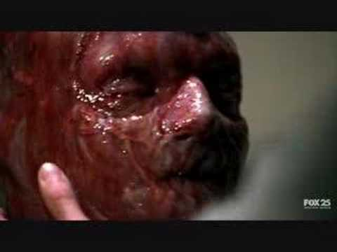 TSCC Cromartie's Blood Bath Scene