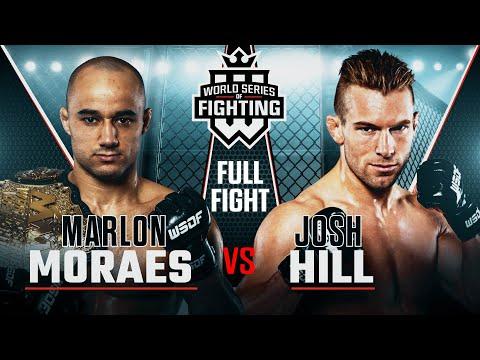 #WSOF18: Marlon Moraes vs Josh Hill NBCSN Full Fight