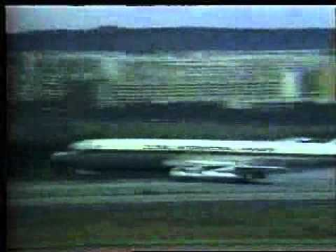 Boeing 707-323B N8434 Global International Airways forced landing in Brasilia, 1982
