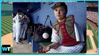 ONE-ARMED High School Catcher Luke Terry Is A Viral Inspiration! | What's Trending Now!