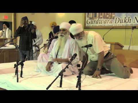 Beadbi in Dukh Nivaran Surrey Gurdwara & Disruption of Sant Baba Hari Singh Randhawa Wale's Katha