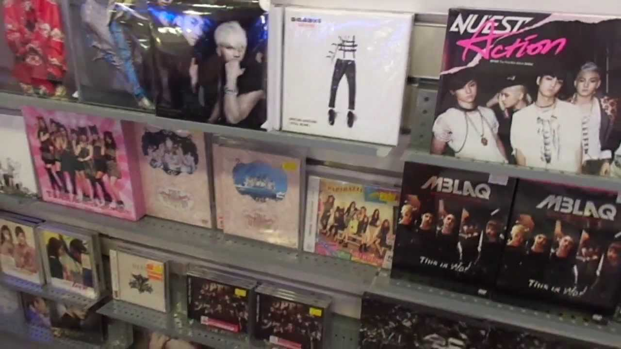 K Pop In Cd Warehouse And Tv Shop In New Town Plaza Hong