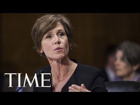 Former Attorney General Sally Yates Set To Testify On Michael Flynn
