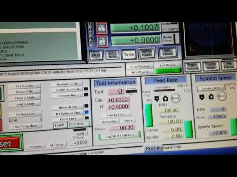 NVUM Novusun CNC Controller problem bad controller - YouTube
