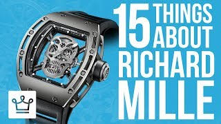 15 Things You Didn't Know About Richard Mille