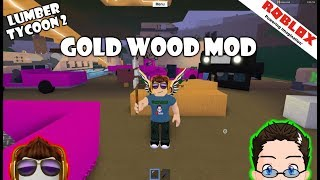 Roblox - Lumber Tycoon 2 - Bois Mod d'Or