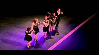 cimorelli performing don t stop believing at the win awards